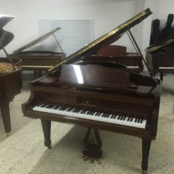 PIANO COLA YOUNG CHANG G185 NOGAL USADO