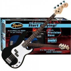 BAJO PACK SQUIER strat plyn p bass