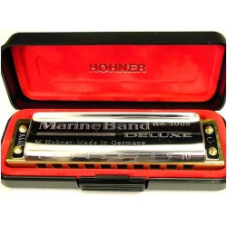 ARMONICA HOHNER MARINE BAND DELUXE F