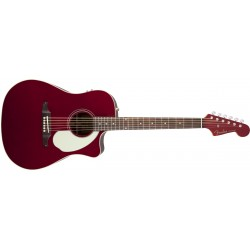 GUITARRA ACUSTICA FENDER SONORAN SCE APPLE RED