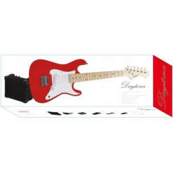 "GUITARRA  ELECTRICA JUNIOR PACK STRATO ""Daytona"" SOMBRA PGEJDR"