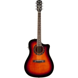 GUITARRA ACUSTICA FENDER BUCKET300CE FLAME MAPLE