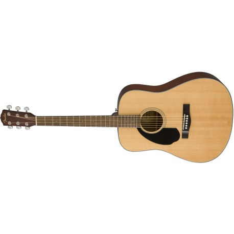 GUITARRA ACUSTICA FENDER CD60SBK
