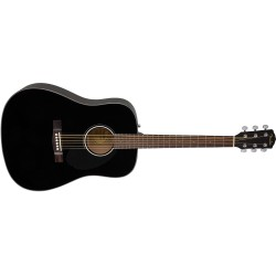GUITARRA ACUSTICA FENDER CD60S BLK