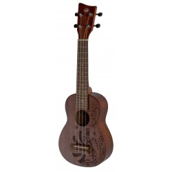 UKELELE VGS SOPRANO MANOA KALEO TATTOO KT-SO-NIPPON