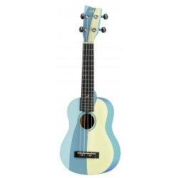UKELELE VGS SOPRANO MANOA WAIMEA W-SO-BLUE