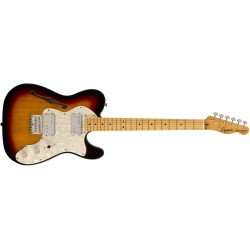 GUITARRA ELECTRICA TELE THINLINE SQUIER MN 3TS