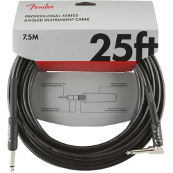 CABLE FENDER PRO 25 NEGRO