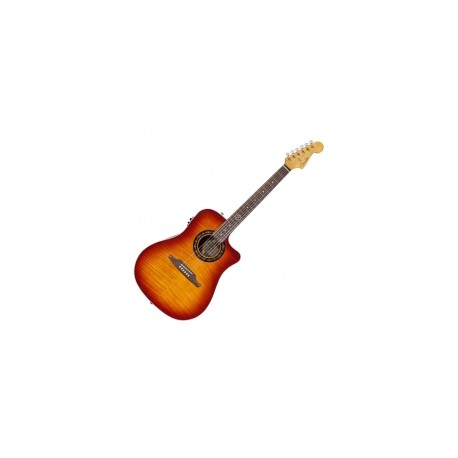GUITARRA ACUSTICA FENDER SONORAN BUCKET FLAME BURST
