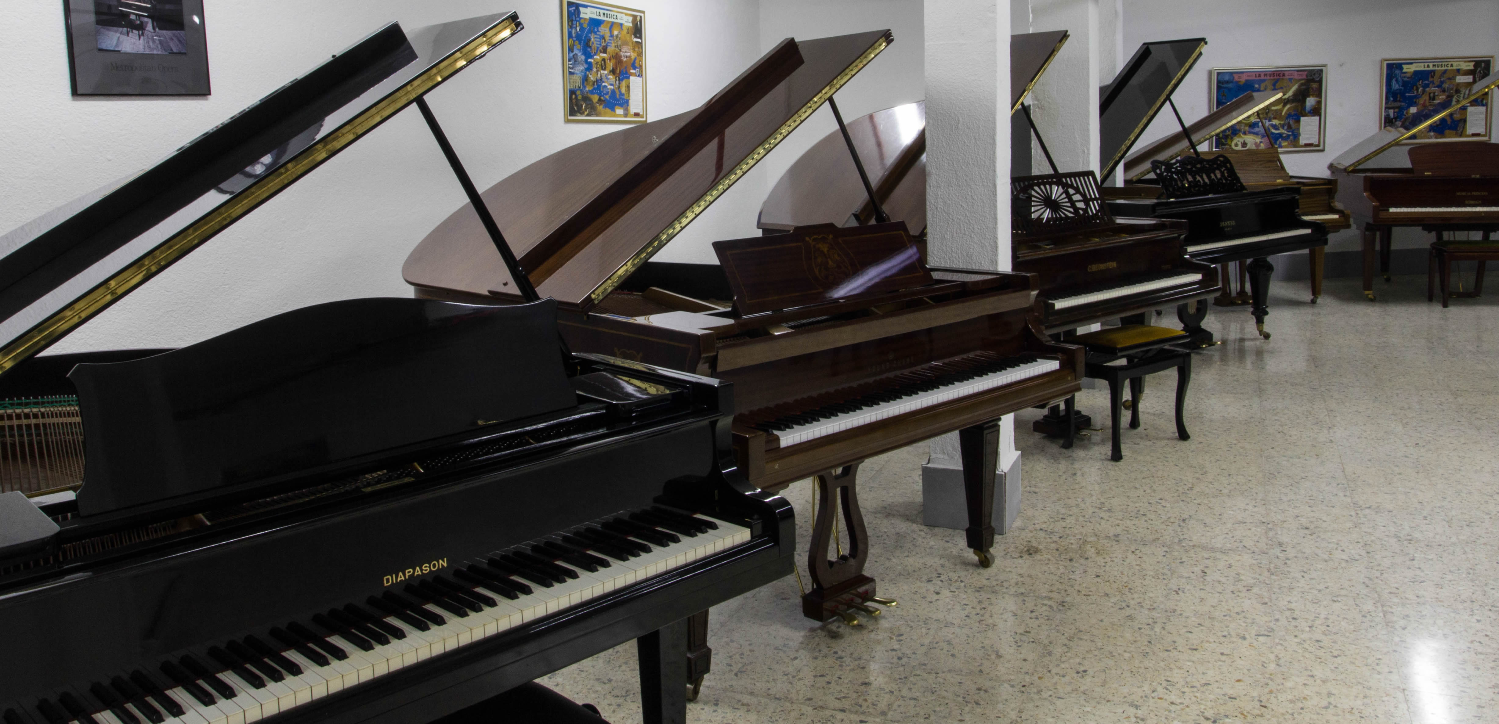PIANOS COLA MUSICAL PRINCESA CARPETANA