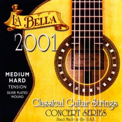 CUERDAS LA BELLA 2001 MEDIUM CLASICA