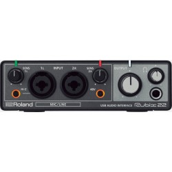 RUBIX22 USB AUDIO INTERFACE 2 IN / 2 OUT