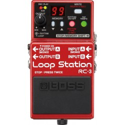 PEDAL BOSS LOOP STATION RC3