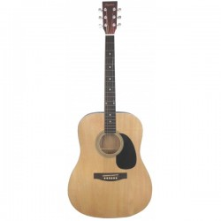 Daytona A-411 Guitarra Acústica Natural Brillo