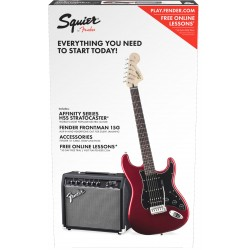 PACK GUITARRA ELECTRICA SQUIER FENDER CAR 230V