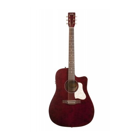 ART & LUTHERIE AMERICANA TENNESSEE RED CW Q1T DREADNOUGHT