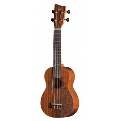 UKELELE VGS SOPRANO MANOA KALEO TATTOO KT-SO-INCA