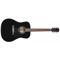 GUITARRA ACUSTICA FENDER CD60 DREAD V3 DS BLK WN