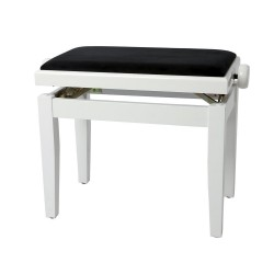 HM-BG27 BLANCO M NEGRO BANQUETA REGULABLE