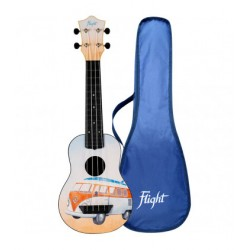 Ukelele Soprano Flight TUS-25 Travel Bus