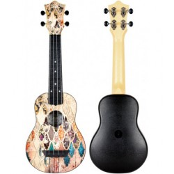 Ukelele Soprano Flight TUS-40 Travel Granada