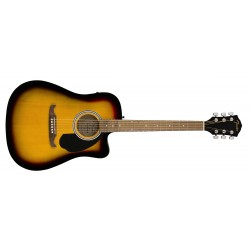 GUITARRA ACUSTICA FENDER FA125CE DREADNOUGHT SUNBURST