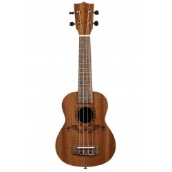 Ukelele Soprano Bones SP220S Sapelly